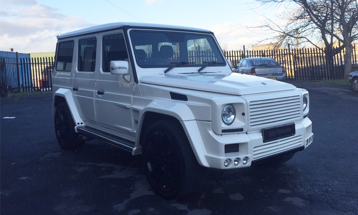 G Wagon car Hire Manchester