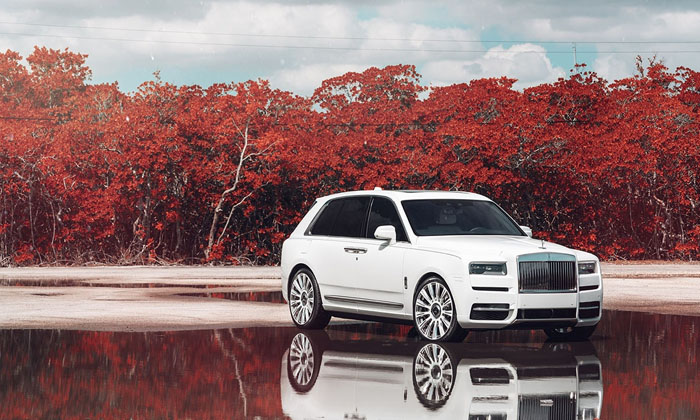 Rolls-Royce Cullinan Hire Manchester