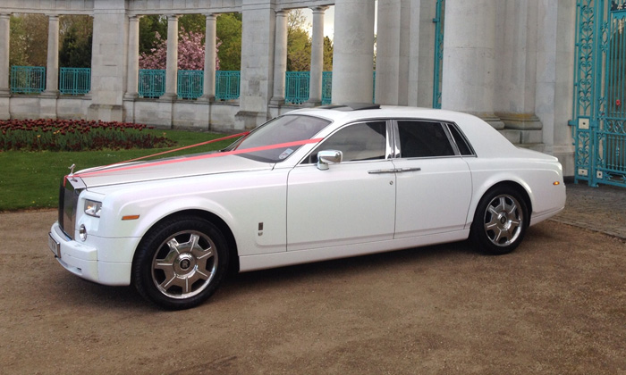 Rolls-Royce Wedding car Hire Manchester