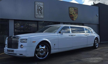 Rolls-Royce Phantom Limo Blackburn