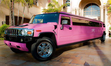 Pink Limo Blackburn