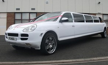 Porsche Limo Hire Blackburn