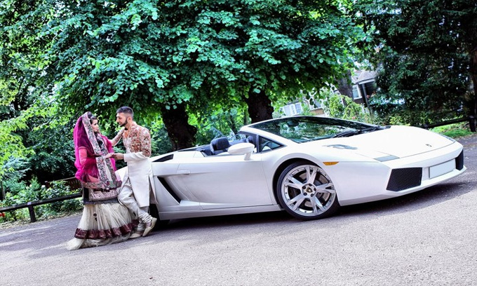 Wedding Super Car Hire Uk