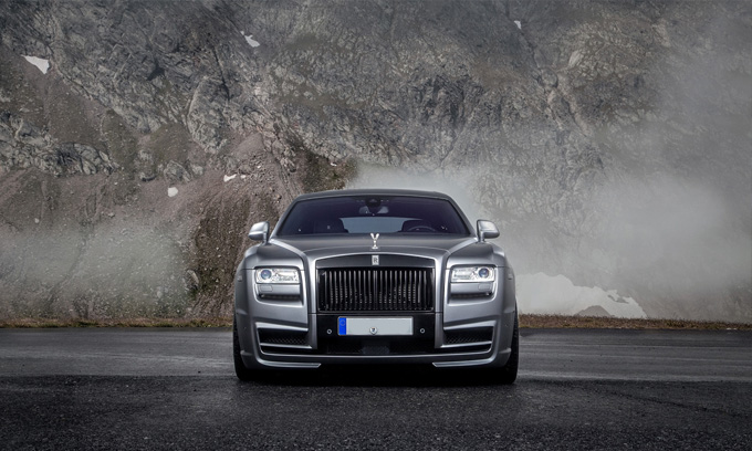 Bury Rolls-Royce Ghost Hire