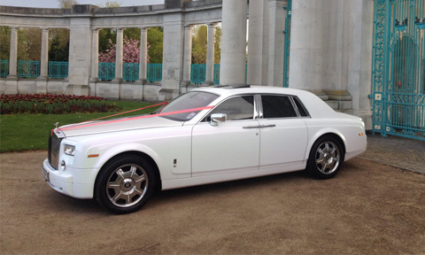 Rolls-Royce Wedding Car Hire Oldham