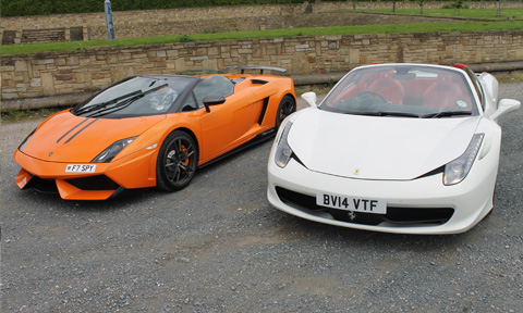 Super Car Hire Glasgow