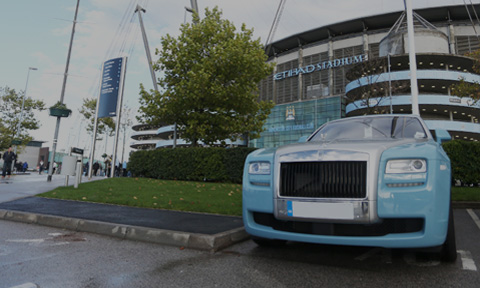 Manchester Rolls-Royce Hire