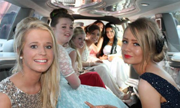 School Prom Car Hire Manchester