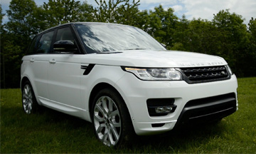 Range Rover Hire Manchester
