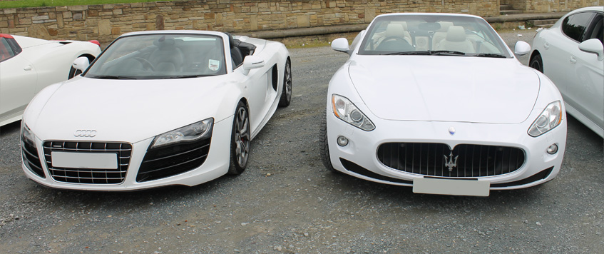 luxury sports car hire